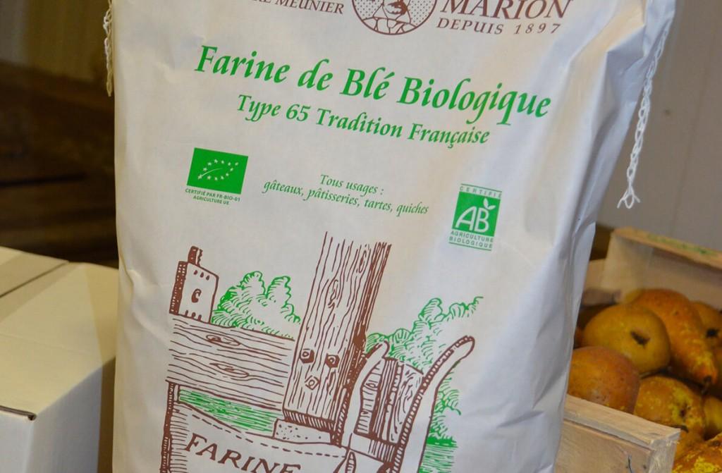 farine de blé biologique savoie